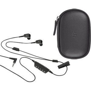New Blackberry 3.5mm Premium Headset With Case Factory Original One Year Warranty Applies