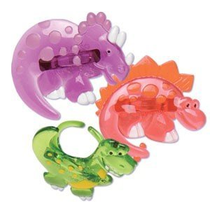 Dinosaurs Jewel Cupcake Rings - 24 ct - 1