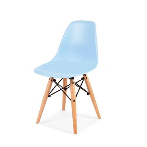 mueblespacio - Silla Style wood Baby - MSD15275019 - Azul Cielo Claro
