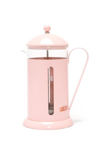 Rainbow Pink 8 Cup Cafetiere