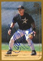 Carlos Hernandez New Orleans Zephyrs - Astros Affiliate 1999 Topps Rookie Card... by Hall of Fame Memorabilia