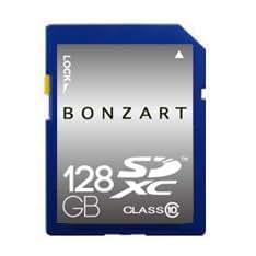 永久保証 BONZART BONZ128GSD UHS1 sdカード 128gb SDカード  メディア 人気 売れ SDHC Class GB 記録 記憶 sdhc メモリー カメラ カード パソコン ブリスタパッケージ (128G Uhs1)