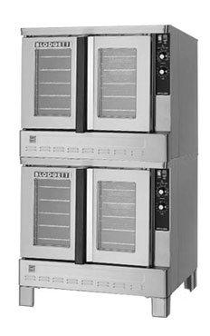 Blodgett Zeph240Gplusdbl Double Deck Standard Depth Gas Convection Oven