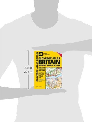 Glovebox Atlas Britain with 85 Town Plans (Road Atlas)
