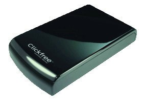 Clickfree C6 Easy Image Desktop Backup Black 2TB