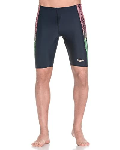 Speedo Shorts da Bagno Plmt Pnl Jam Am [Blu/Rosa/Verde]