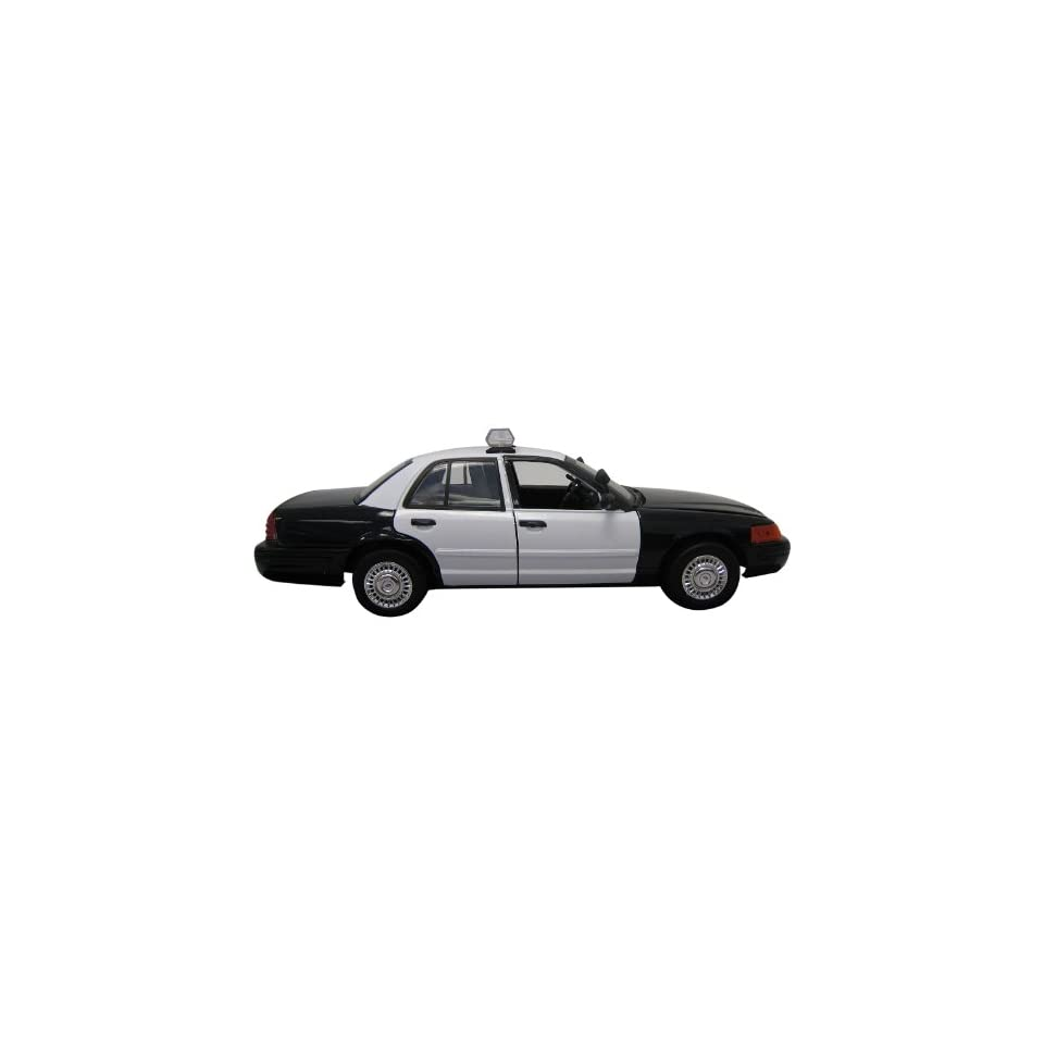 Motormax 118 Die Cast 2001 Ford Crown Victoria Police Car  Toys