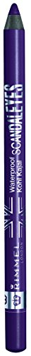 Rimmel Scandaleyes, Eyeliner Waterproof, Deep Purple