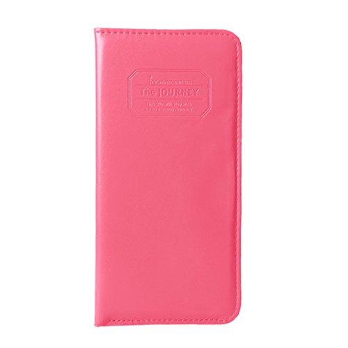 OFTEN® Women Long Passport Cover Case Wallet Pocket Holder for Journey (Passport Wallet Ticket compare prices)