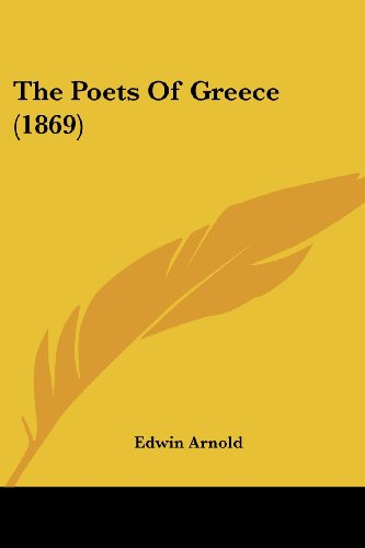 The Poets of Greece (1869)