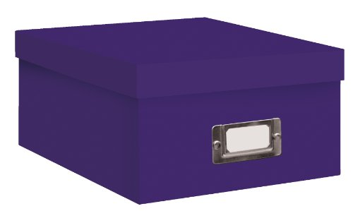 pioneer-b-1-photo-video-storage-box-holds-over-1100-photos-up-to-4x6-or-10-vhs-videos-solid-color-br