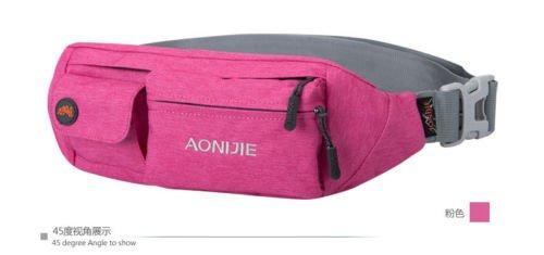 Brand Women Men Outdoor Sporting Backpack Security Pockets Mini Waist Bag Pack