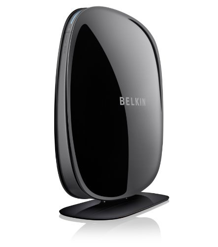 Belkin N600 F9J1102zb Wireless Dual Band N+Modem Router (Black)