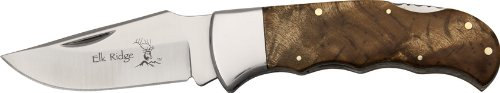 Elk Ridge ER-138 Gentleman's Knife 4-Inch Closed