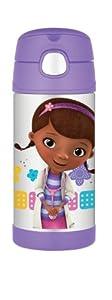 (历史最低)Thermos Funtainer Bottle膳魔师卡通保温杯紫色小女孩款$15.90