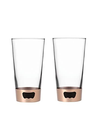 AdNArt Set of 2 Pint Glass Openers