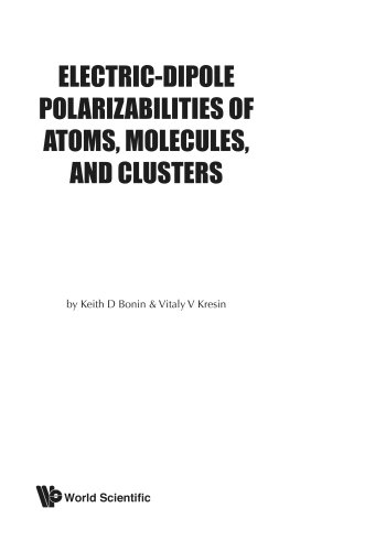Electric-dipole polarizabilities of atoms, molecules and clusters