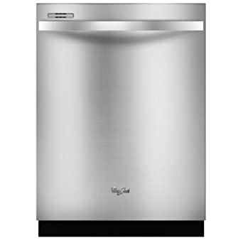 """Whirlpool WDT710PAYM Gold 24"""" Stainless Steel Fully Integrated Dishwasher - Energy Star"""