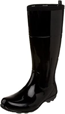 Kamik Women's Naomi Rain Boot,Black,6 M US