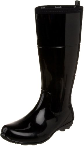 Kamik Women's Naomi Rain Boot,Black,8 M US (Rain Boots Cheap compare prices)
