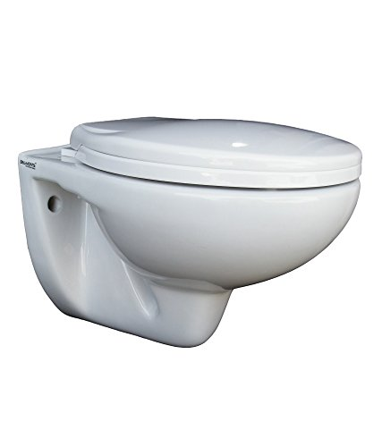 Belmonte Wall Hung Water Closet Mini with Seat Cover - White