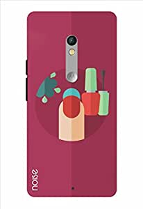 Noise Girly Things - Nail Paint Printed Cover for Motorola Moto X Play