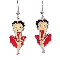 Betty Boop Officially Licensed Dangling Earrings