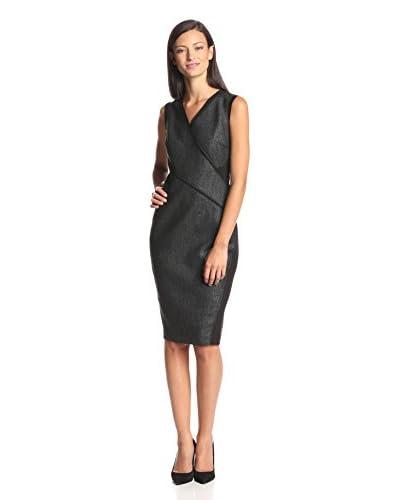 Elie Tahari Women's Maisy Coated Sheath Dress