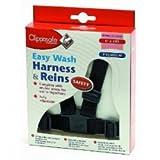 Clippasafe Easy Wash Webbing Baby Harness Navy Red