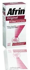 Afrin 12 Hour Nasal Spray, Original 1 fl oz (30 ml)