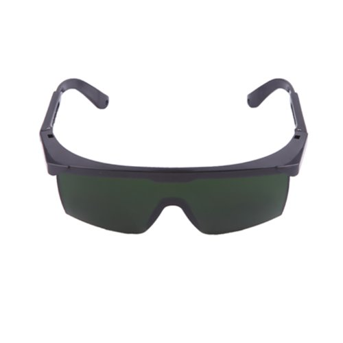 HDE Laser Eye Protection Safety Glasses for Red and UV Lasers with Case (Green) (Laser Red Green compare prices)
