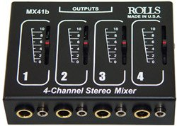 Rolls MX41B 4 Channel Passive Mixer  Level Control