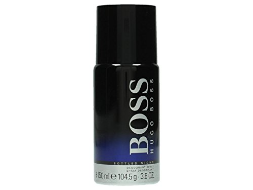 Hugo Boss Boss Bottled Night Deodorante Spray, Uomo, 150 ml