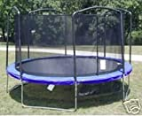 BRAND NEW JUMPKING 15' Trampoline (4 ARCH) ENCLOSURE NETTING WITH STRAPS AND ROPE. [SAFETY NET WILL FIT ONLY A 15' TRAMPOLINE with a 4 ARCH ENCLOSURE]