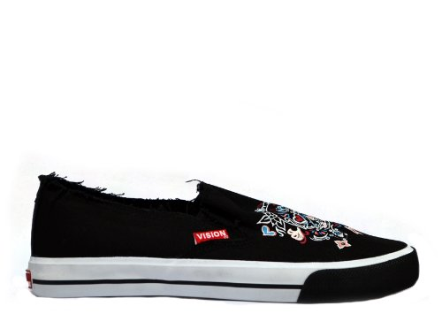 Women's Vision Street Wear Cali Skull Slip On Shoes
