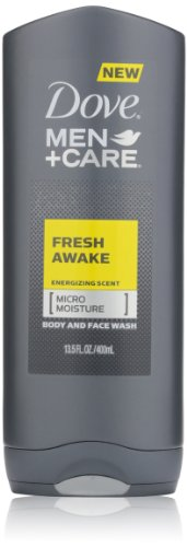 Dove Men Plus Care Body and Face Wash, Fresh Awake, 13.5 Ounce (011111192560)