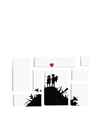Banksy Kids On Guns Hill 8-Piece Giclée On Canvas