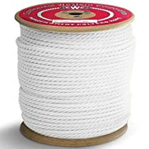 PolyPRO White Rope - 3 Strand - 1/4