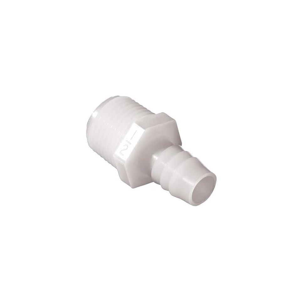 THOGUS GA1010/N 10 G Garden Hose Adapter,5/8 In Barb,PK 10