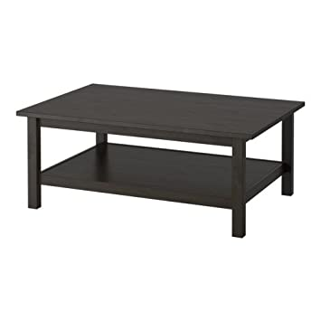 IKEA HEMNES - Coffee table, black-brown - 118x75 cm
