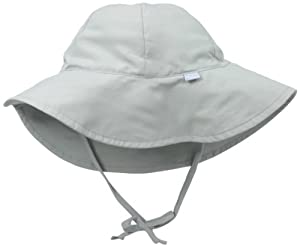 i play. Unisex-baby Infant Solid Brim Sun Protection Hat from i play.
