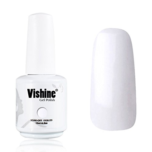 Vishine-Gelpolish-Professional-Manicure-Salon-UV-LED-Soak-Off-Gel-Nail-Polish-Varnish-Color-French-White-1323