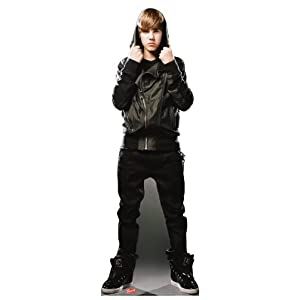 Justin Bieber DH -- Life-Size Standup Poster , 26x70