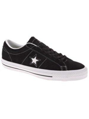 Converse Unisex One Star Skate Black/White Skate Shoe 11 Men US