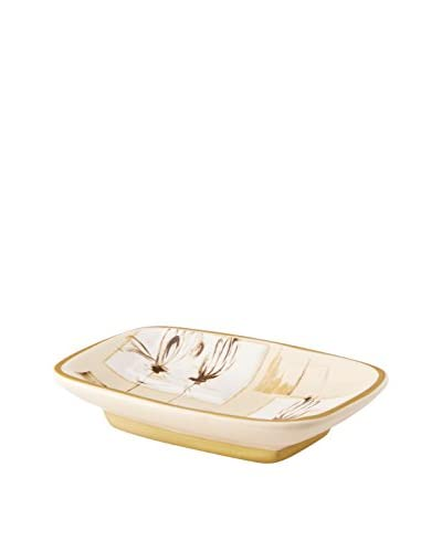 Creative Bath Floral Design Soap Dish, Multi