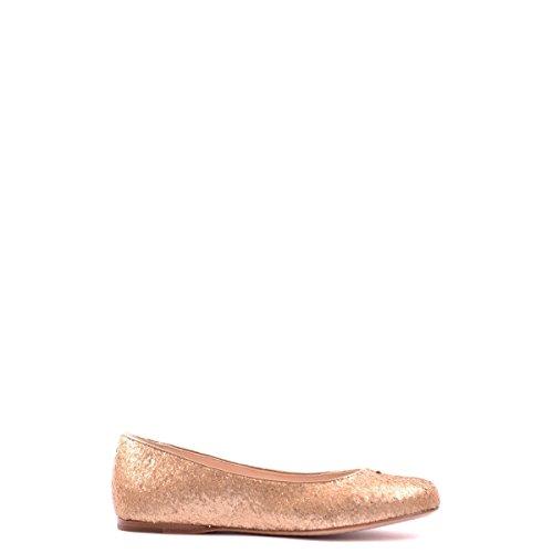 Prada ballerine donna in pelle originale glitter matt oro EU 36 3F5686 3O2F F0522