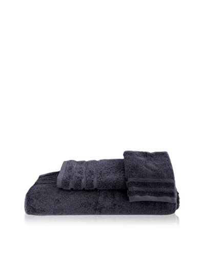 bambeco 3-Piece Organic Cotton 700 Gram Towel Set, Indigo As You See