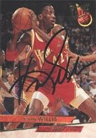 Kevin Willis Atlanta Hawks 1993 Fleer Ultra Autographed Hand Signed Trading Card -... by Hall+of+Fame+Memorabilia
