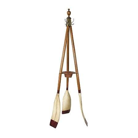 Oxford Varsity Wooden Standing Coat Rack