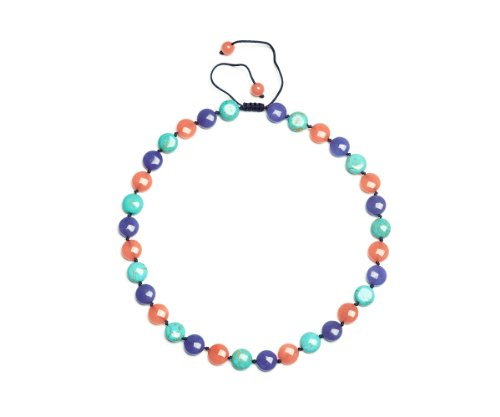 Lola Rose 'Violet' Multi Blue Semi Precious Necklace